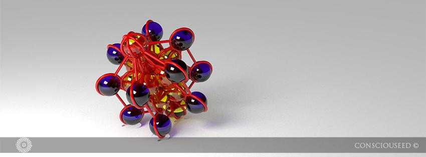 Metatron's Cube 3-D